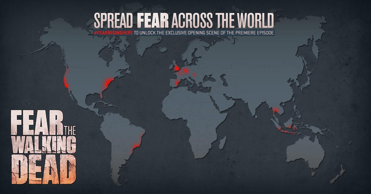 Fear the walking dead sharable map Emma Webb Design